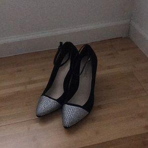 """Black """"Anne Michelle"""" Stilettos"""